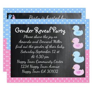 Duckies and Tootsies Invitation