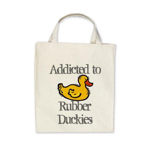 Duckies de goma bolsas