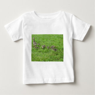 Duckies in the Grass Baby T-Shirt