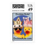 Duckies Rule! Large Vertical Stamp
