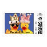 Duckies Rule! Stamp (Large Horizontal)