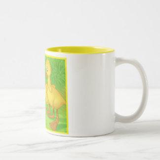 Duckings and the Snail Coffee Mug