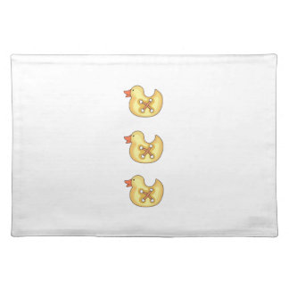 DUCKLING BUTTONS CLOTH PLACEMAT