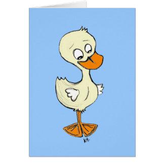 Duckling Card