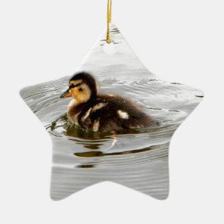 Duckling Ceramic Ornament