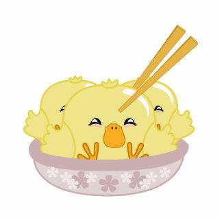 Duckling Dumplings Statuette