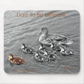 Duckling family mousepad