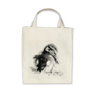 Duckling Grocery Tote Bag