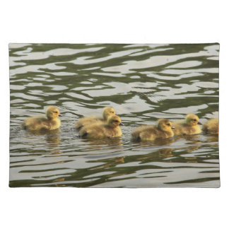 duckling line cloth place mat