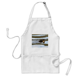 Duckling on Bright Water Adult Apron