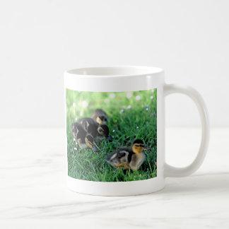 Duckling Parade Classic White Coffee Mug
