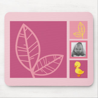 Duckling pink mousepad