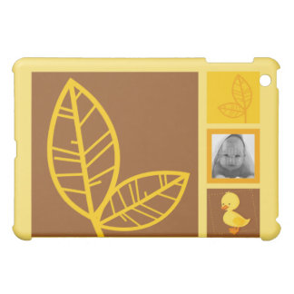 Duckling yellow  cover for the iPad mini