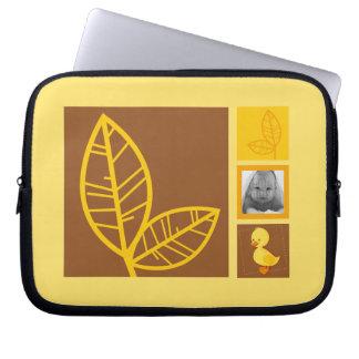 Duckling yellow iPad sleeve Laptop Computer Sleeves
