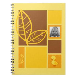 Duckling yellow notebook