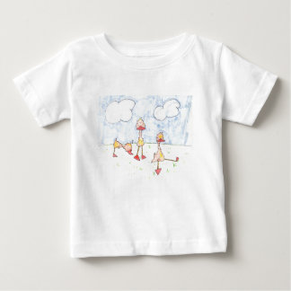 Ducklings Baby T-Shirt