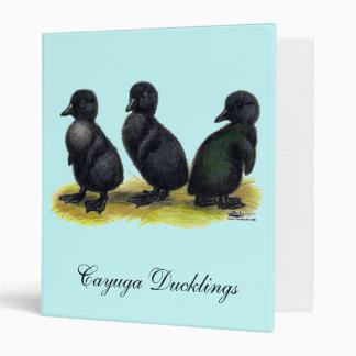 Ducklings Black Cayuga Binder