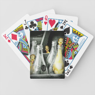 ducklings get into mischief bicycle playing cards