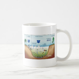 ducklings in the lagoon didactic project coffee mug