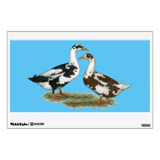 Ducks Ancona Pair Wall Decal