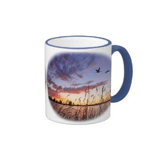 Ducks at Dawn-Duck Hunting Coffee Mugs