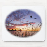 Ducks at Dawn-Duck Hunting Mouse Mat