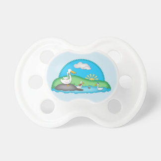 Ducks at the Pond 0-6 months BooginHead® Pacifier