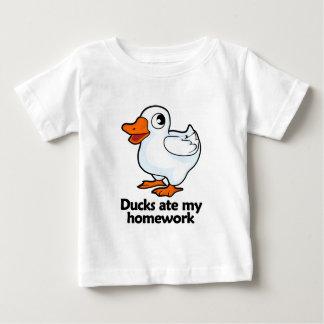 Ducks ate my homework baby T-Shirt