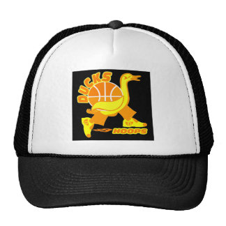 Ducks Basketball Cap Trucker Hat
