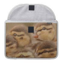 Ducks Birds Wildlife Animals Photography Sleeve For MacBooks