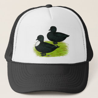 Ducks:  Black Calls Trucker Hat