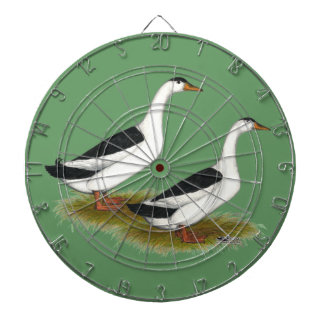 Ducks:  Black Magpies Dart Boards