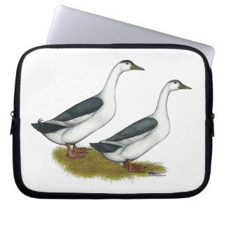 Ducks:  Blue Magpies Computer Sleeve