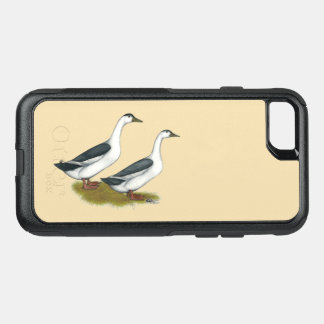 Ducks:  Blue Magpies OtterBox Commuter iPhone 8/7 Case