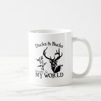 DUCKS & BUCKS COFFEE MUG
