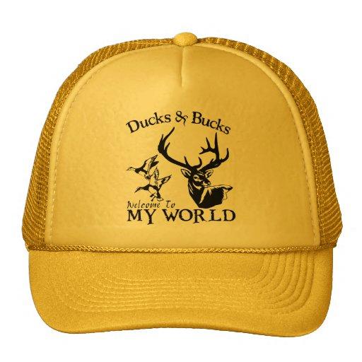DUCKS & BUCKS TRUCKER HAT