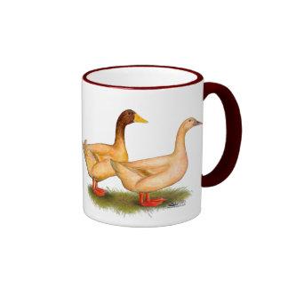 Ducks:  Buff Orpington Ringer Mug