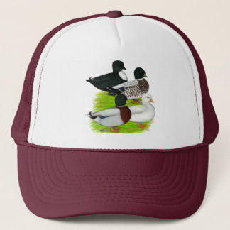 Ducks:  Call Quartet Trucker Hat