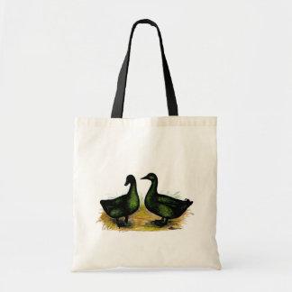 Ducks:  Cayuga Pair Tote Bag