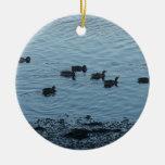 Ducks. Christmas Tree Ornaments