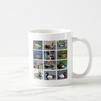 Ducks Collage Logo Classic White Coffee Mug