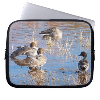 Ducks Ducklings Birds Wildlife Animals Computer Sleeve