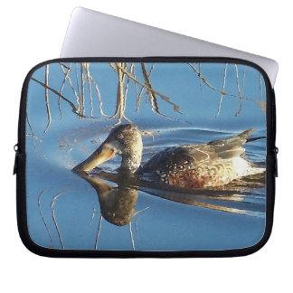 Ducks Ducklings Birds Wildlife Animals Laptop Sleeve