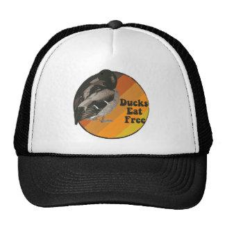 Ducks Eat Free Trucker Hat