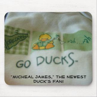 Duck's Fan! New Baby mousepad Custom Names