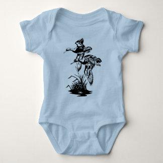 DUCKS FLYING BABY BODYSUIT