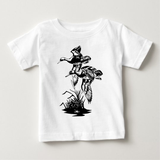 DUCKS FLYING BABY T-Shirt