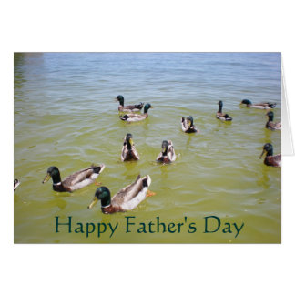 Ducks, Happy Father's Day Card