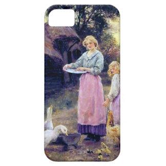 Ducks Hen Chicken Farm Birds Mother Daughter iPhone 5 Case