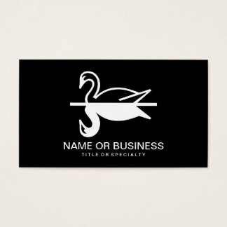ducks icon business card